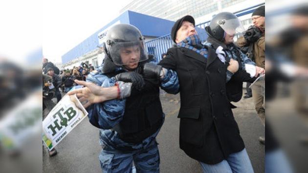 Moscú: protestas opositoras no autorizadas se saldan con detenciones