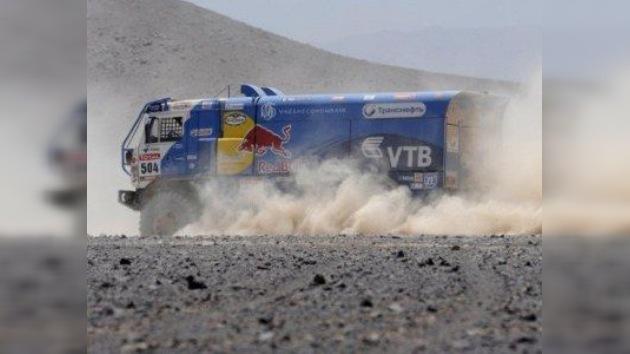 Karguínov de Kamaz Master sorprende en la undécima etapa del Dakar
