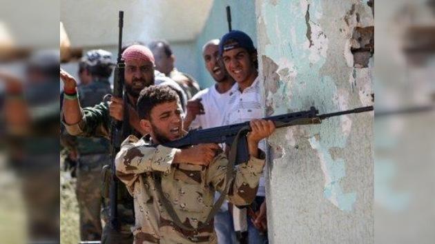 Suman 7.000 los prisioneros del Consejo Nacional de Transición libio