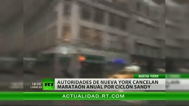 Otra víctima de Sandy: suspendida por primera vez la Maratón de Nueva York