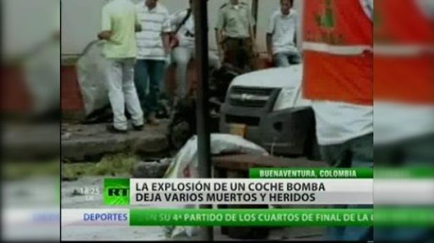 Nueve muertos y 50 heridos en un atentado en Colombia