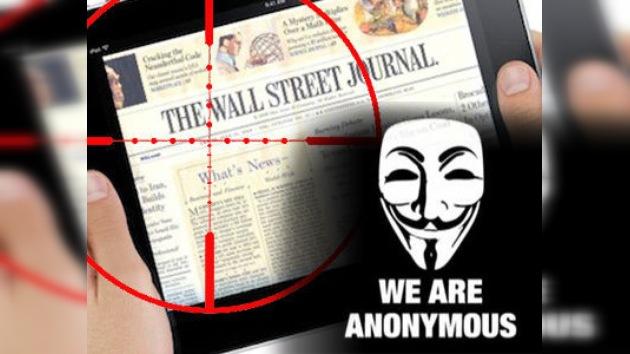 Anonymous lanza una advertencia al 'Wall Street Journal' por compararlos con Al Qaeda