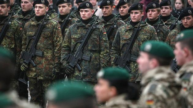 Alemania cogió su fusil: el Ejército alemán podrá usar armas por primera vez desde 1945
