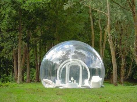Vivir encerrado en una burbuja: la metáfora se hace realidad
