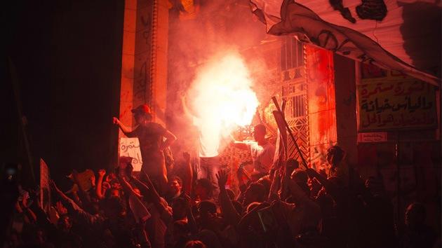 Fotos: Al menos cinco muertos en enfrentamientos en Egipto