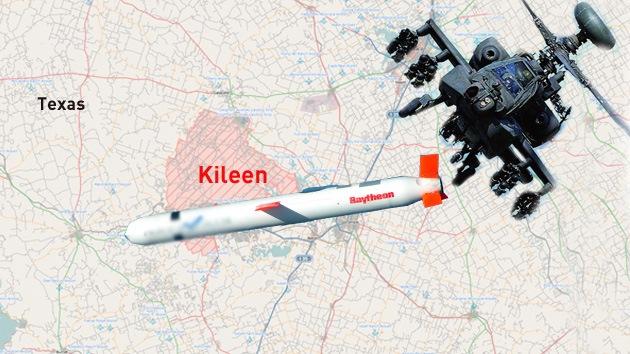 Pánico en EE.UU.: un misil cae en una ciudad de Texas