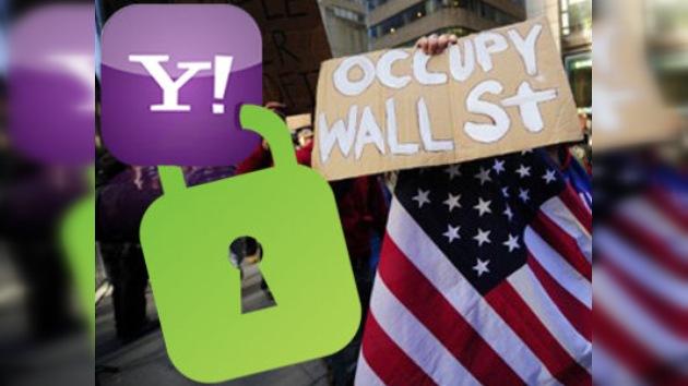 Yahoo bloqueó correos relativos a la protesta 'Occupy Wall Street'