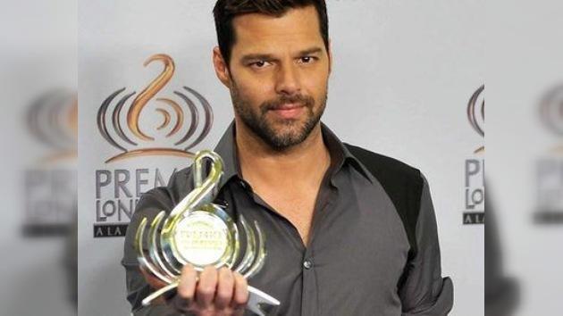 Ricky Martin recibió el galardón al 'Ícono Mundial' del Premio Lo Nuestro
