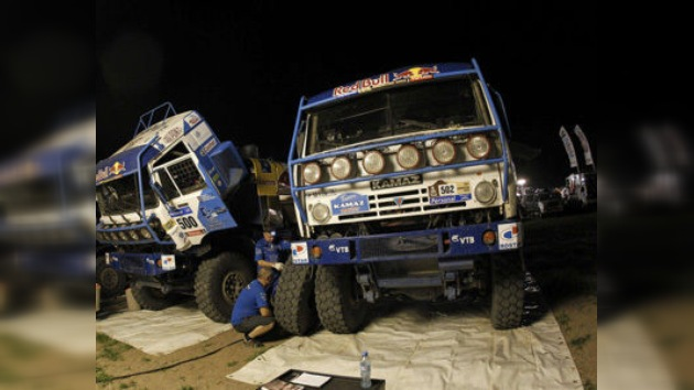 Chaguin recupera el liderazgo en el Rally Dakar en Argentina
