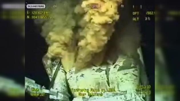 BP pone en práctica nuevas soluciones para acabar con la fuga de crudo