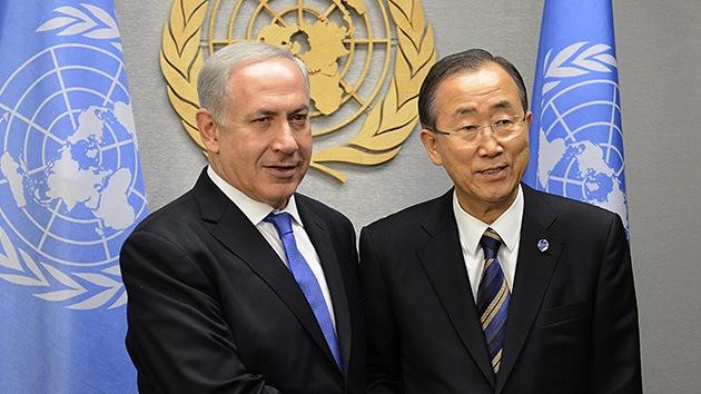Ban Ki-moon condena los ataques con misiles contra Israel
