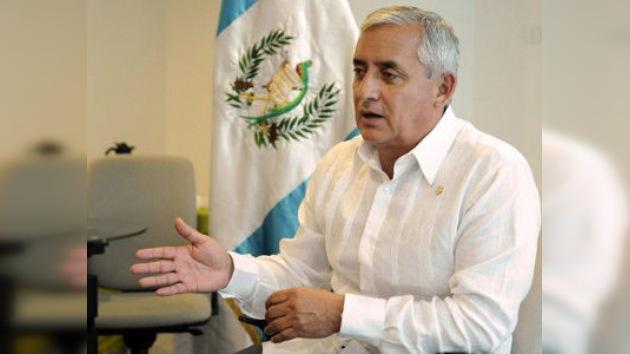 El presidente de Guatemala a RT: La regularización de la droga no es su liberalización