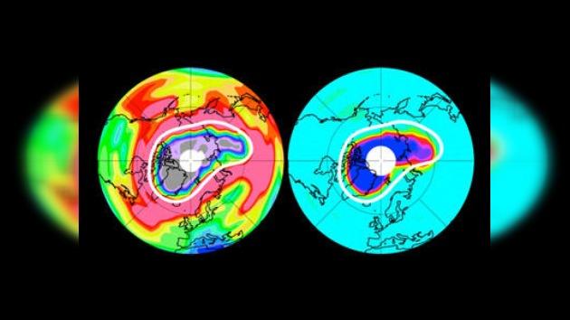 El agujero de ozono en el Ártico crece a pasos agigantados