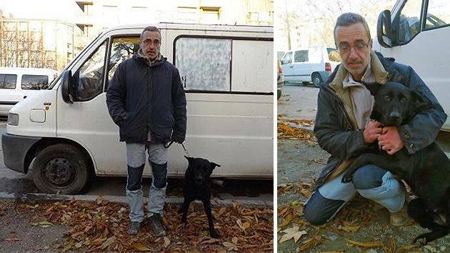 """Un español en medio de la crisis: """"Si no pago, me quitarán la furgoneta donde vivo"""""""