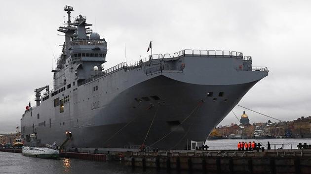 El portahelicópteros Sebastopol encabezará la flota rusa en el Mediterráneo
