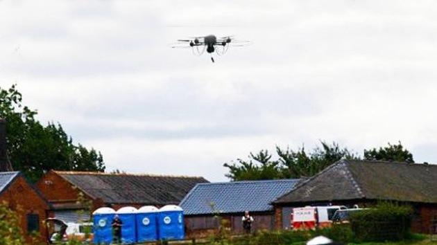 Drones podrían vigilar las calles del Reino Unido