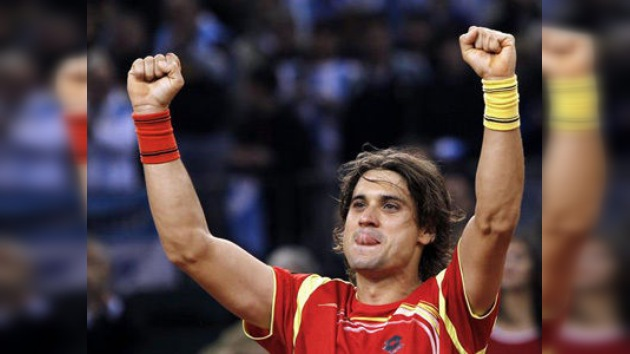 España, a un paso de su quinta Copa Davis