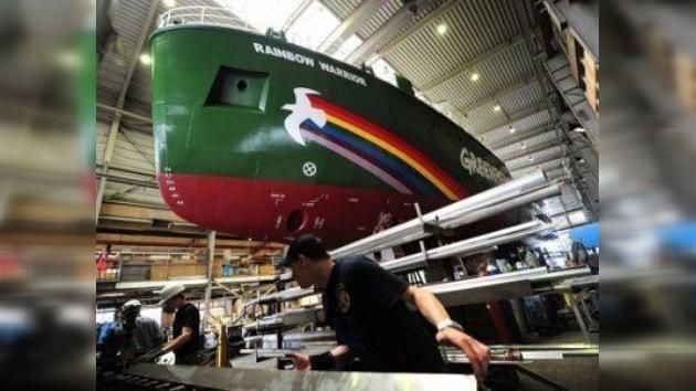 El nuevo buque insignia de Greenpeace gozará de un sistema de protección de asaltos