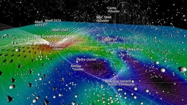 Video: Crean un mapa multicolor del Universo en 3D