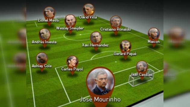 El equipo ideal del 2010