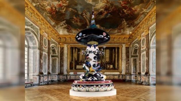 El arte moderno del Andy Warhol japonés asalta el Palacio de Versailles