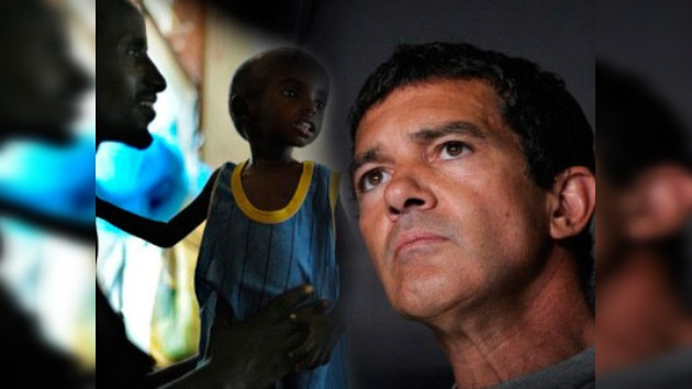 Antonio Banderas exhorta a combatir la hambruna en África