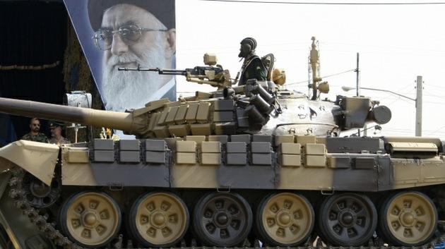 Irán muestra su poderío militar de producción propia en el Día del Ejército