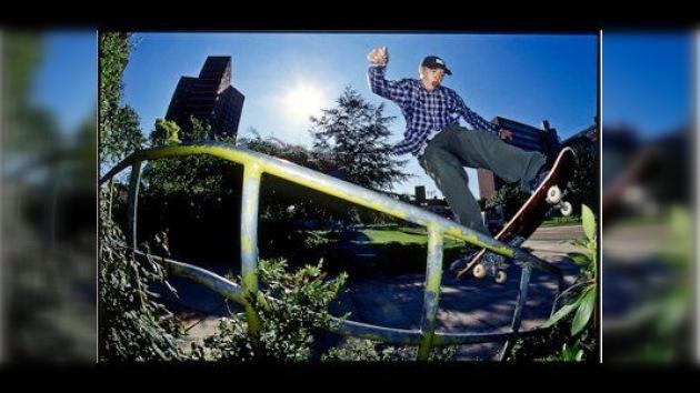 El fotógrafo y skateboardista Leo Sharp: entre la analógica y la digital