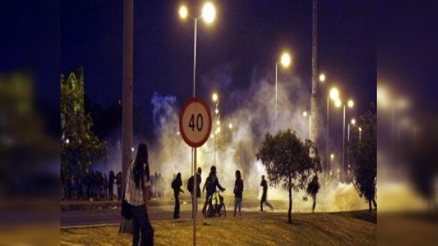 Disturbios en Bogotá durante concierto de Metallica dejan cuantiosos daños