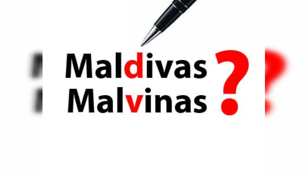 ¿Malvinas o Maldivas? Islas en un mar de confusión en los medios de comunicación