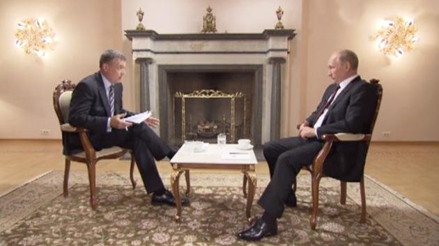 Versión completa de la entrevista exclusiva con el presidente de Rusia, Vladímir Putin