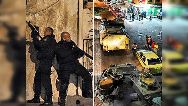 La Policía toma la favela más emblemática de Río de Janeiro