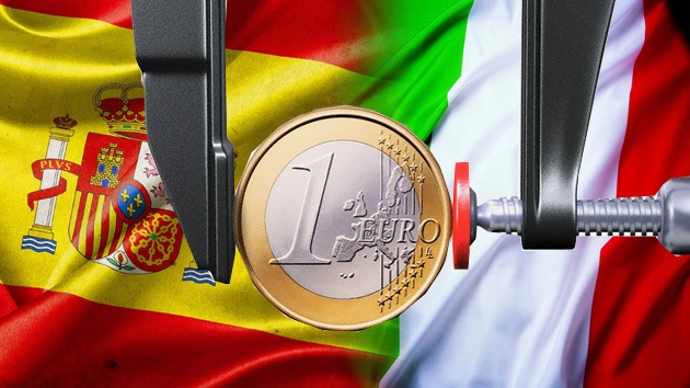 Resultado de imagen de crisis en Italia y España