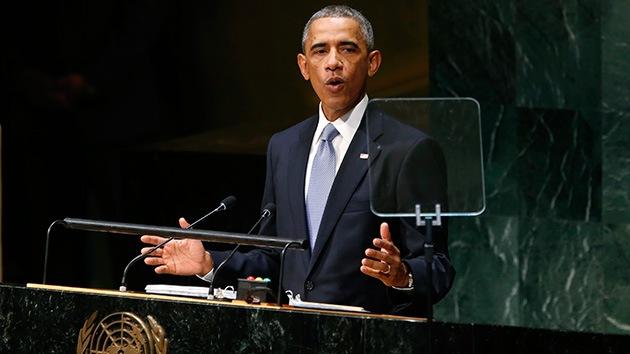 Las frases más hipócritas del discurso de Obama en la Asamblea General de la ONU
