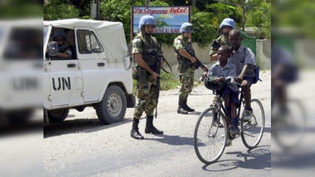 Prisión para marinos uruguayos acusados de abusos en Haití
