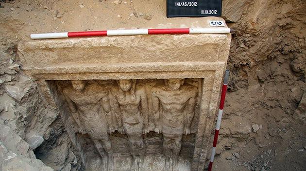 Encuentran en Egipto la tumba de una princesa faraónica