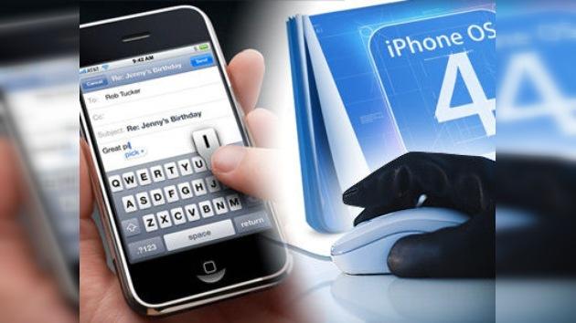 IPhone, un espía de bolsillo
