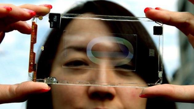 Presentan un prototipo de 'smartphone' transparente