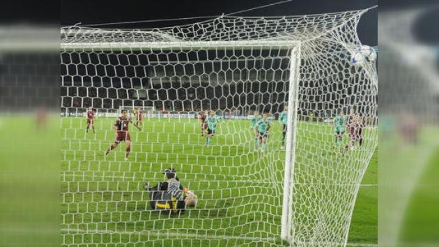 El Rubin Kazan sorprende al FC Barcelona con un empate (1-1)