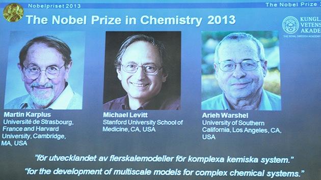 """El Nobel de Química de 2013 se otorga """"por llevar los procesos químicos al ciberspacio"""""""