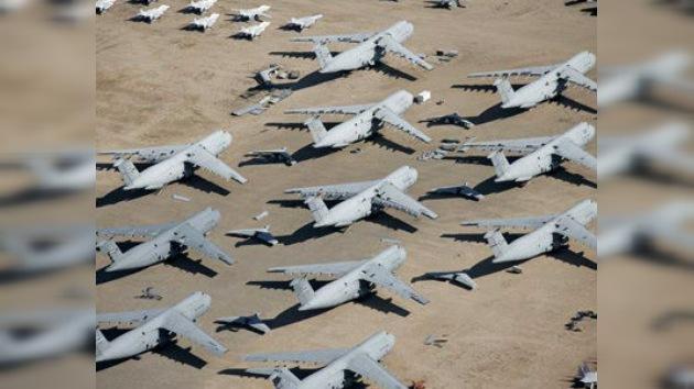 La crisis 'corta las alas' a la Fuerza Aérea de EE. UU.: casi 300 aeronaves se jubilan