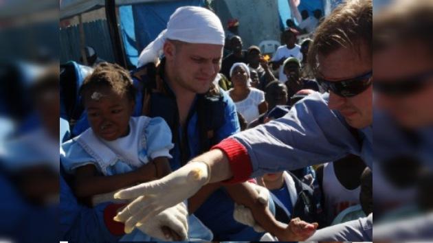 El hospital de campaña ruso, reconocido como el mejor en Haití