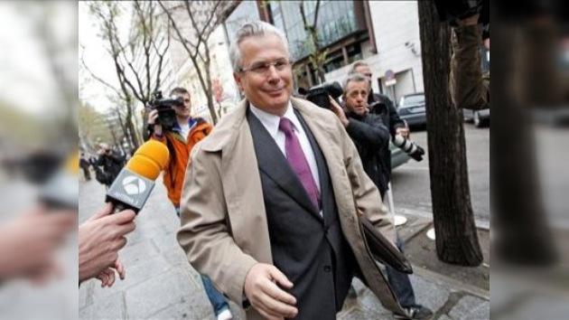El juez Garzón no se siente perseguido en España