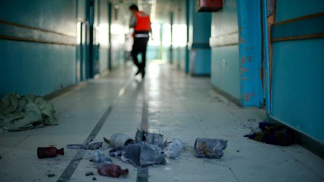 4 muertos y 60 heridos en un ataque israelí contra un hospital en Gaza
