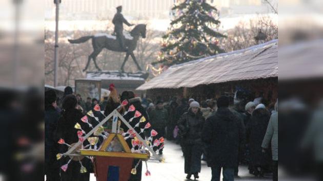 El festival de artesanía 'El invierno ruso-2010'