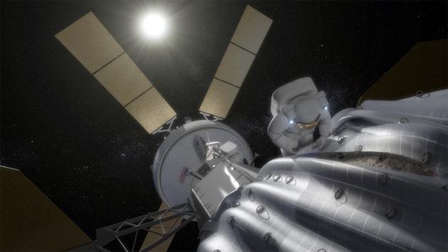 La NASA planea realizar un vuelo tripulado a un asteroide
