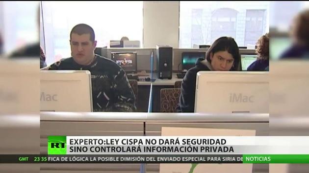 """""""La CISPA quitará a la gente en EE.UU. lo poco que le queda de privacidad"""""""