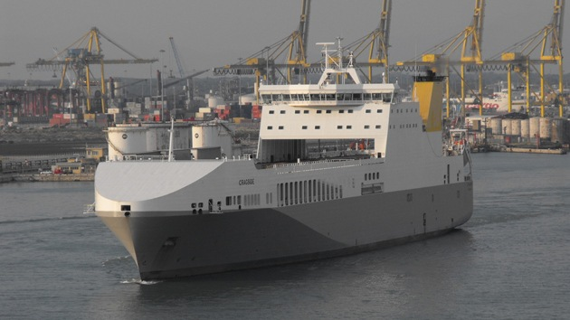 La Armada de EE.UU. dispone de un lobo con piel de carguero
