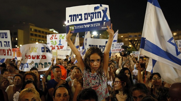 """""""Terminen el trabajo"""": Miles de israelíes apoyan la ofensiva militar contra Gaza"""