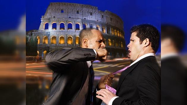 Roma: una puñalada por un puñado de turistas